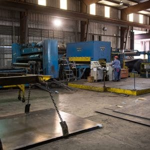 Cut to Length Sheet & Plate Steel