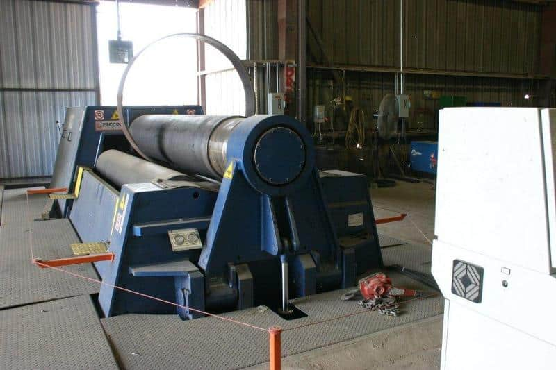Plate Rolling Machinery - Willbanks Metals